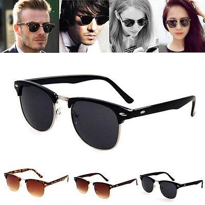 Unisex Womens Mens Retro Fashion Shades Frame Sunglasses Eyewear Vintage Fashion