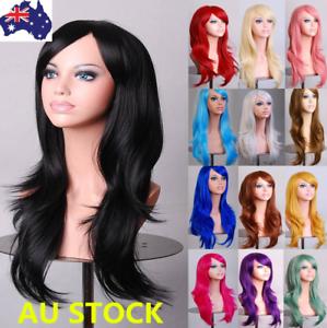 27-034-Women-Long-Wavy-Curly-Full-Wigs-Fancy-Dress-Party-Cosplay-Halloween-Hair-Cap