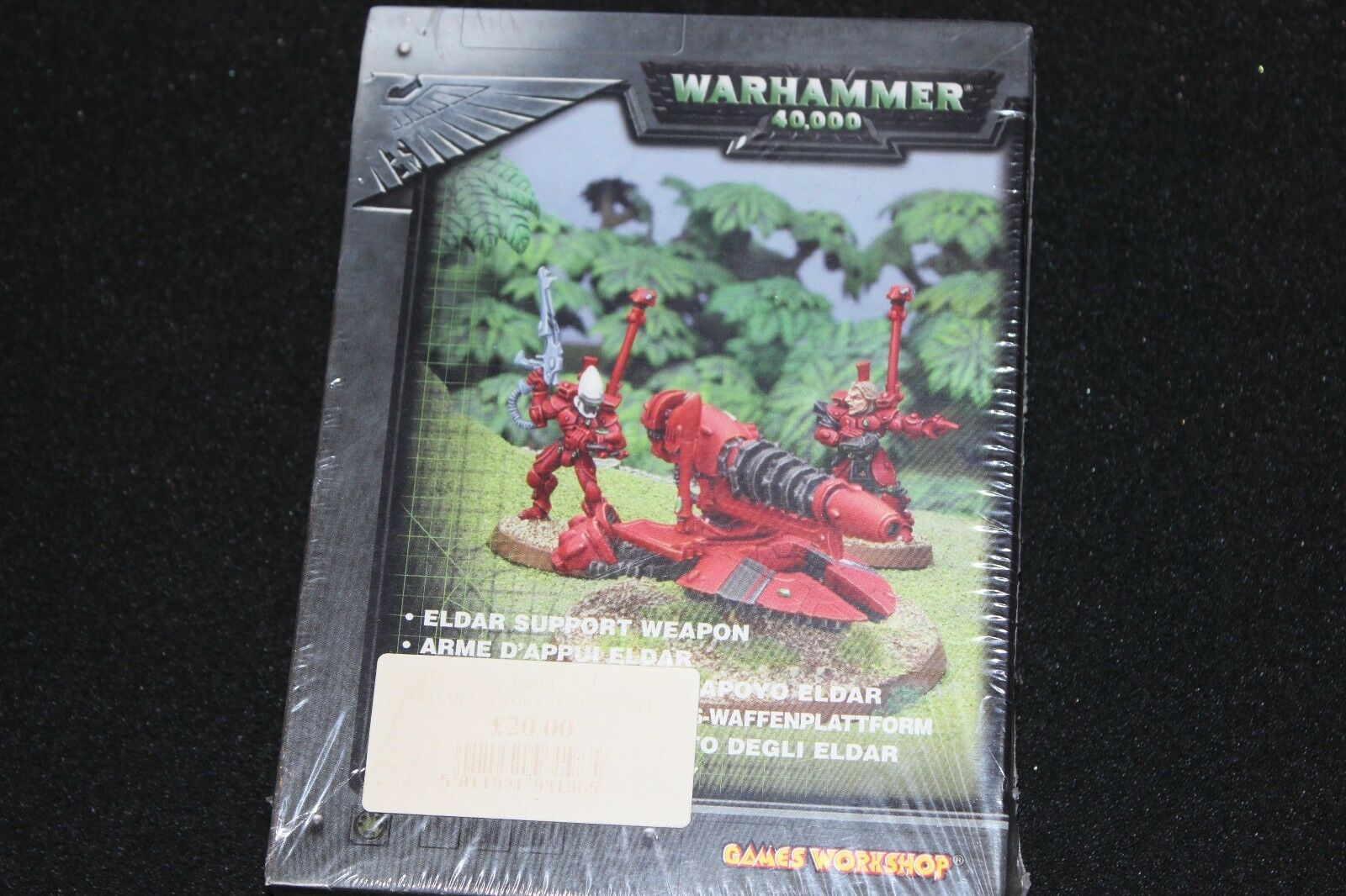 Games Workshop Warhammer 40k Eldar Support Weapon Metal BNIB New WH40K OOP Heavy