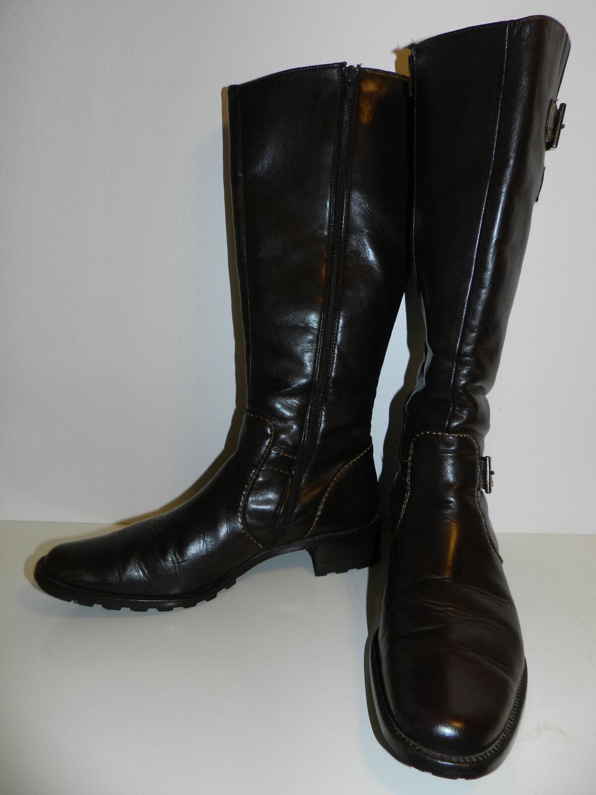 Paul Grün Damen Stiefel Gr. 41 (7 1 2) braun