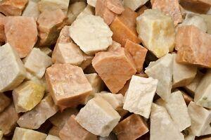 Wrapping 3 Pounds of Zebradorite Rough Tumble Rocks Cabbing Reiki