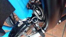 Titanium handlebar catcher set for Brompton