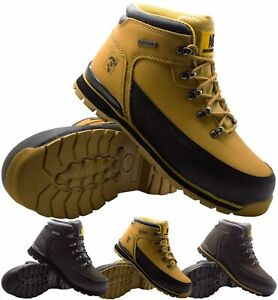MENS MAXSTEEL LEATHER SAFETY WORK BOOTS