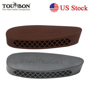 Rifle-Shotgun-Buttstock-Recoil-Pad-Rubber-Plate-2-Colors-USA-Shipping-TOURBON
