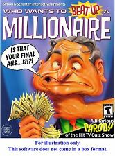 Who Wants to Beat Up a Millionaire?  95/98/Me/XP *Hit TV Show Parody * Ship Free
