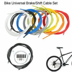 Bicycle MTB Shift//Brake Line Cable Sets Road Bike Universal Housing Kit Smooth