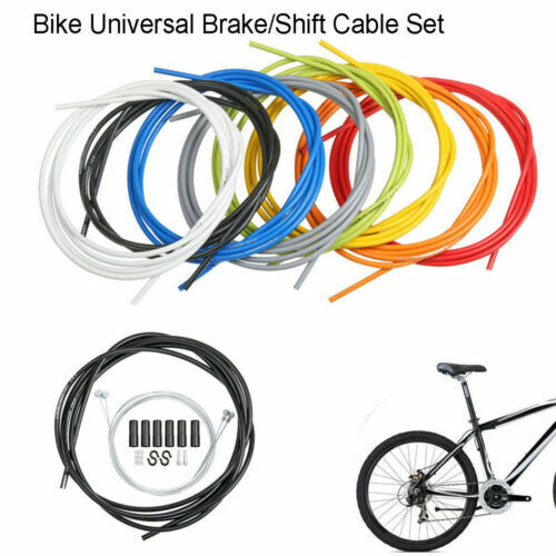 SRAM Slickwire Road//MTB 4mm Shift Cable and Housing Set White