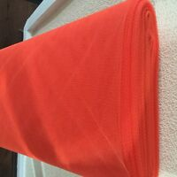 Net Dress Tutu Tulle Fabric Mesh 100% Nylon Material 150cm Wide- HIBISCUS