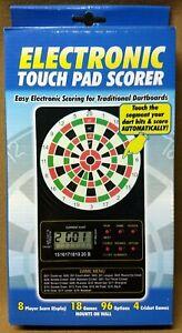 Electronic Touch Pad Scorer Dart Score Board w// FREE Shipping
