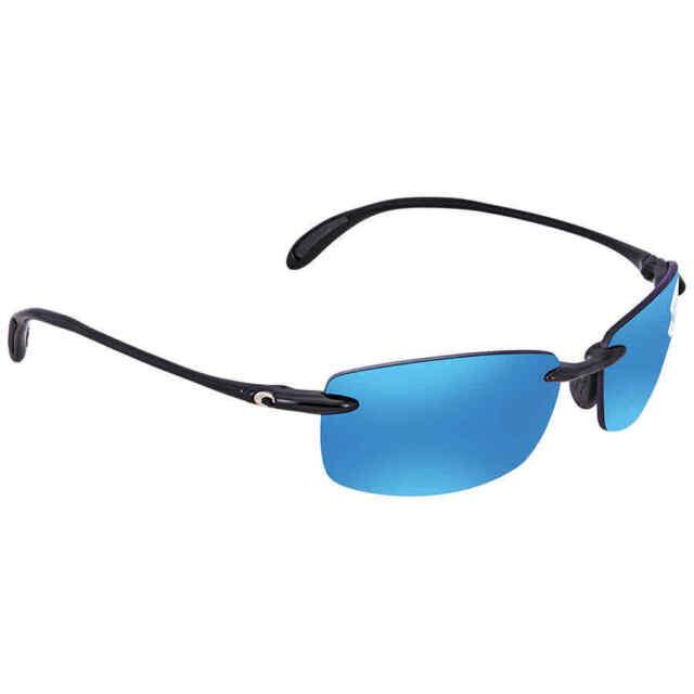 feba85d551 Costa Del Mar Ballast Polarized Blue Mirror Medium Fit Sunglasses BA 11 OBMP