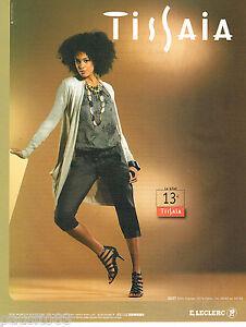 Détails Sur Publicite Advertising 065 2010 Leclerc Vetements Femme Tissaia