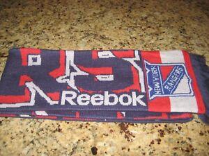 New-York-Rangers-Reebok-Scarf-Excellent-condition