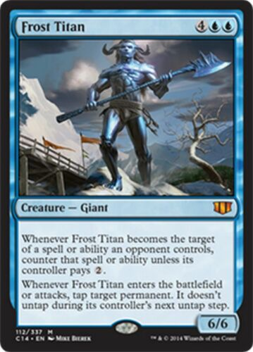 x1 Frost Titan NM MTG Commander 2014