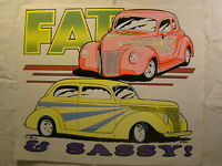 Fat & Sassy Low Riders 14 X 12 T Shirt Iron On Heat Thermal Transfer