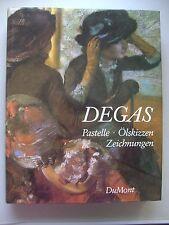 Degas Pastelle Ölsizzen Zeichnungen 1984
