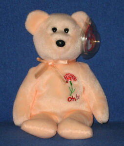 acb2bc62358 Image is loading TY-OHIO-SCARLET-CARNATION-STATE-FLOWER-BEANIE-BABY