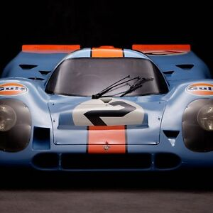 Details about Porsche 917, Front View by Rick Graves