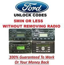 FORD Radio Sblocca Codice 3000 4000 4500 5000 6000 RDS EON-M di serie