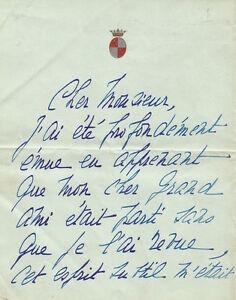 Cecile-SOREL-Lettre-autographe-signee