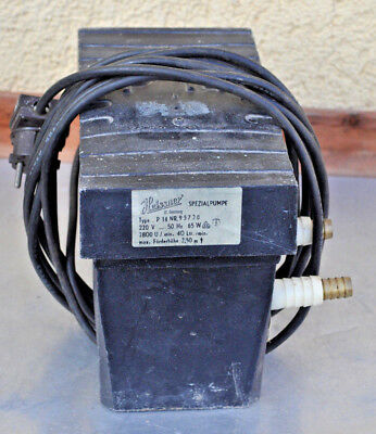 Zielsetzung Meisner Spezial Pumpe P 14
