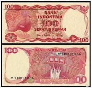 Indonesia 100 Rupiah 1984 Replacement (UNC) 全新 印度尼西亚 100盾 纸币 1984年版 XDL 303494