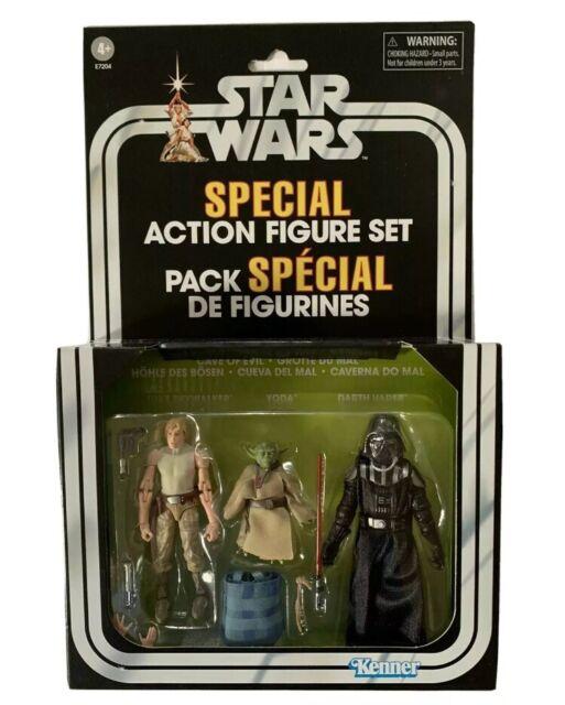 "Yoda loose de Target 3-Pack Star Wars 3.75/"" Scale Figure Grotte du mal"