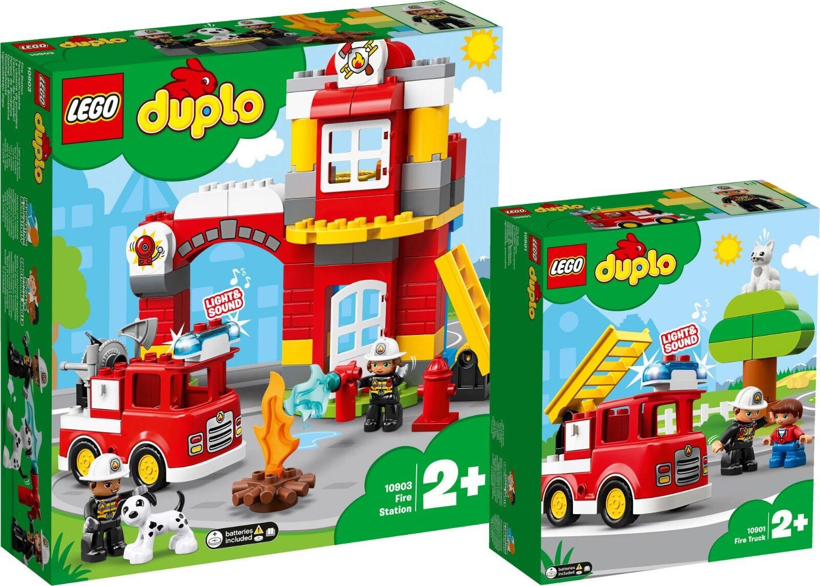 LEGO 10903 DUPLO 10901 fuoco Militare Guardia vigili del fuoco auto n1 19