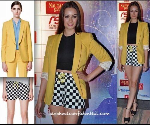 Flowing S Bloggers Zara Checkered Checked Taglia Check Piccola Shorts 6Wq0Z0rEw