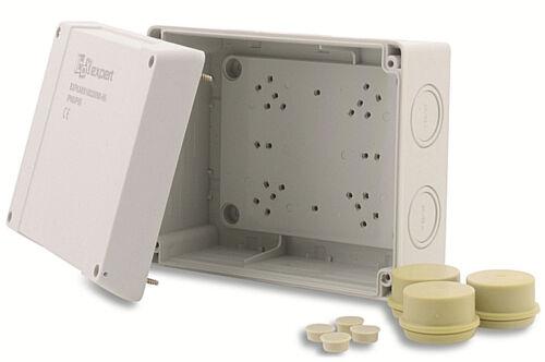 Boxexpert de distribución lata serie Liga Hanseática formada 160x200x98mm ip66 polvo denso gris 7035 Box