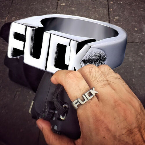 Herrenmode Legierung Cool Gothic Punk Biker Fingerringe HipHop Schmuck Party