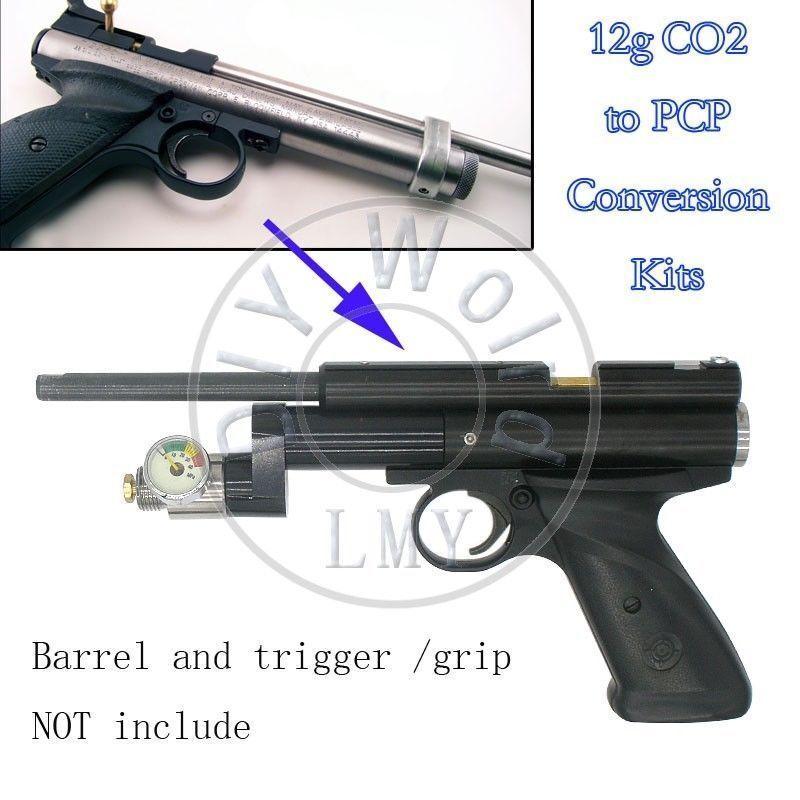 12g Bomba Para Pcp CO2 Kit de conversión para Crosman Pistola 1377 1322 2240 2250 Myot