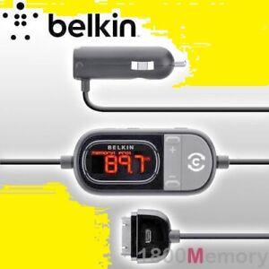 Belkin F8Z498cw Auto Universal Music FM Transmitter For iPhone Samsung Huawei LG