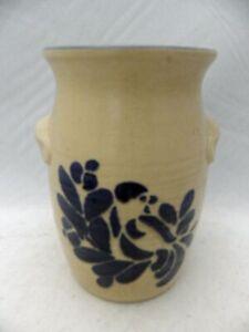 Pfaltzgraff Folk Art pattern – Utensil holder/Crock, p/n #500 - USA - EUC