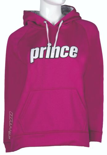 Prince Girls Pullover Hoody in Berry//White