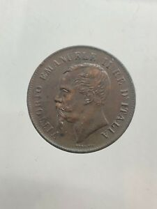 Vittorio-Emanuele-II-5-Cents-1861-Naples-Tete-Tronquee-Expertise-Q-Spl