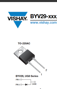 BYV29-400-E3  Ultrafast Rectifier Diode Vishay
