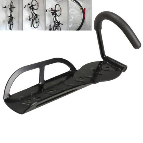 New Heavy Duty Silverline Wall Mount Mounted Bicycle Bike Storage Hook LC