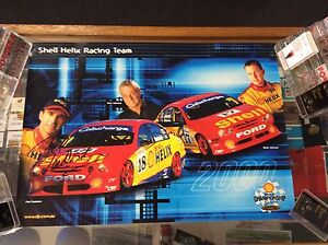 SHELL-HELIX-RACING-TEAM-2000-SIGNED-BY-PAUL-RADISICH-POSTER
