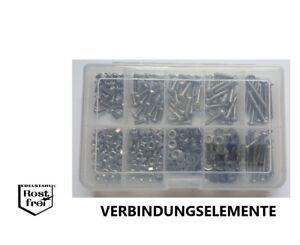 Linsenkopfschrauben Sortiment/Set ISO 7380 M4 mit TORX 400 Teile EDELSTAHL A2