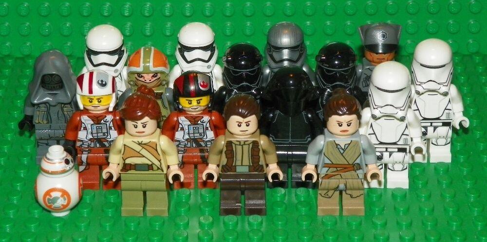 LEGO Star Wars  Episode 7 - Mini Figure Lot - 16 Minifigs