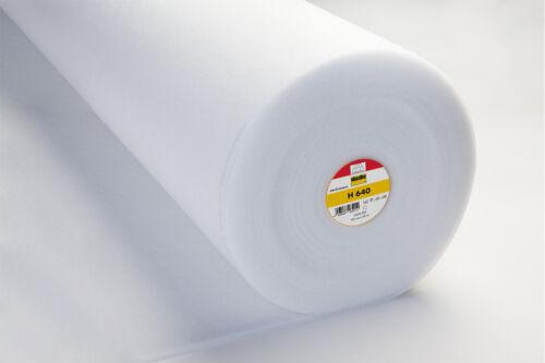 2m Vlieseline Volumenvlies Bügeleinlagen Bügelvlies H180 H200 H250 H630-640 S320