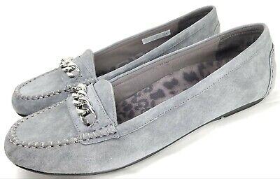 Vionic Mahalo Light Grey Suede Slip-on Flat Shoe Women/'s sizes 5,6,11 NEW!!
