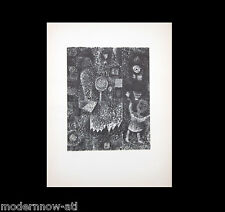 "Paul KLEE Lithograph SIGNED ""Kind im Asterngarten [1925]"" Wove pp +Custom FRAME"