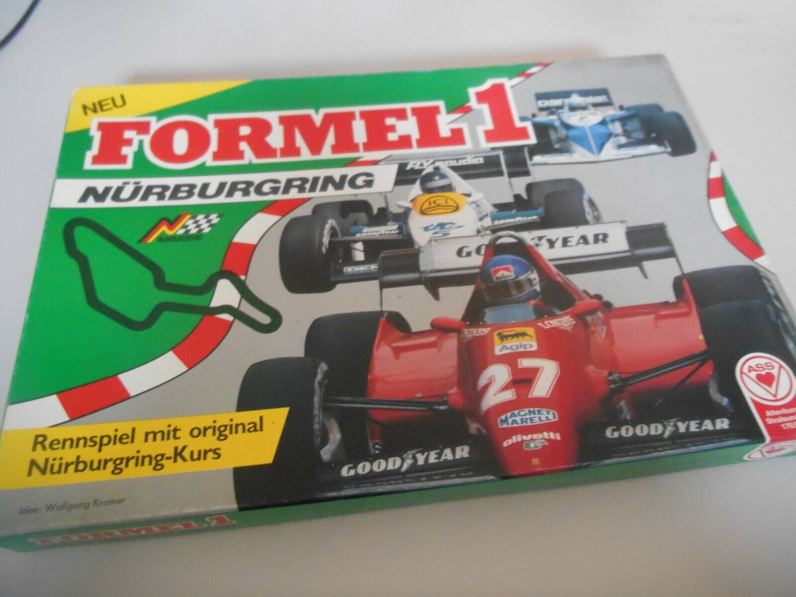 Gioco Wolfgang Kramer-formula 1  Nurburgring (a partire da 8j 2-6 sp.) ASA  marca