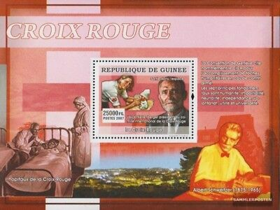 Stamps 2019 Latest Design Guinea Block1374 Postfrisch 2007 Rotes Kreuz Stamps
