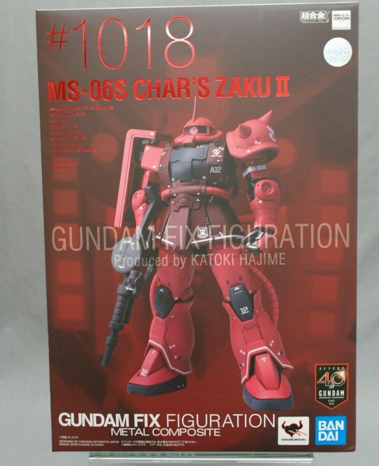 GUNDAM FIX cifraTION METAL COMPOSITE  MS-06S Char's Zaku II Beai Spirits nuovo c  le migliori marche vendono a buon mercato