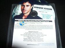 Enrique Iglesias Do you Know (The Ping Pong Song) Rare Australia Promo CD