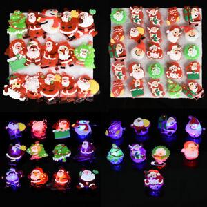 3PCS-Christmas-Flashing-LED-Light-Up-Badge-Brooch-Pin-Charm-Jewelry-Xmas-Gift