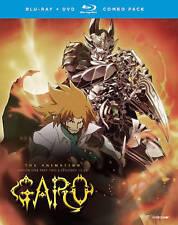 Garo the Animation: Season 1, Part 2 (Blu-ray + DVD , 2016, 4-Disc w/ slipCover)