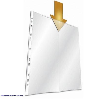 "20 Sheet Protector Top loading Bazic 20 sheets//pack 8.5/""x 11/"" paper Free Ship"